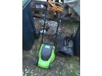 Cutting Edge Electric Lawn Mower Grass Cutter