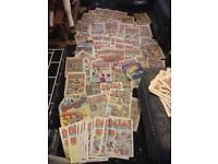 Dandy and beano magazines large collection