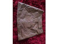 Women's next leather skirt