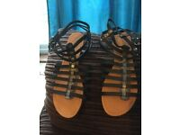 New sandles from new look gladiators size 6