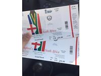 2 TICKETS FOR 3RD ODI - ENGLAND V SOUTH AFRICA - LORDS - 29/05/2017
