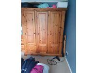 pine wardrobes VGC