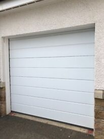 Hormann electric sectional garage door