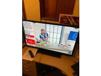 """Toshiba 40"""" lcd tv with remote stand Freeview"""