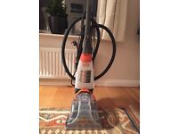 Vax Rapide deluxe carpet cleaner with attachments