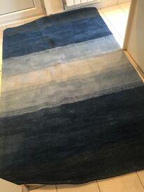 Blue Lounge Rug