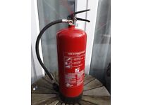 2 x Fire Extinguishers £2 each