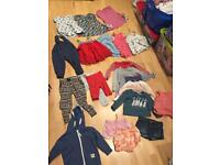 18-24 months girl clothes Gap Zara and next