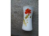 Poppy themed Vase