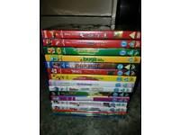 Disney dvds 16x in total