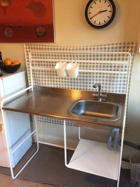 Ikea Sunnersta Temporary Kitchen Sink
