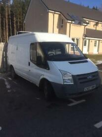 07plate Ford Transit fridge van
