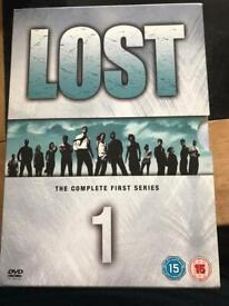 Lost dvds - complete first series