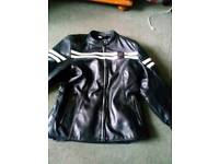 Furygan ladies leather bike jacket