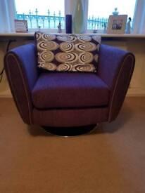 Stylish swivel chairs