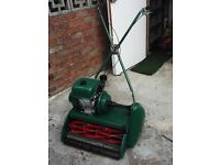 "lawn mower 20"" ransomes BSA engine complete rebuild renovation"
