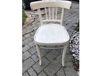 Shabby chic child's chair