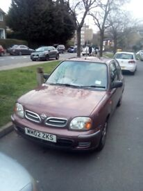 Nissan micra 2002 1.0l petrol reliable car EVER, QUICK SALE