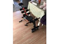 Weight bench and multi gym