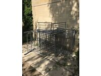 Free metal bunk bed. Collection only