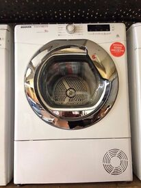 HOOVER 9KG CONDENSER DRYER B ENERGY RATING WHITE RECONDITIONED