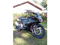 Suzuki GSX-R125 Learner ready bike with mods and tons of accessories.
