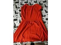 South orange skater dress. Size 16