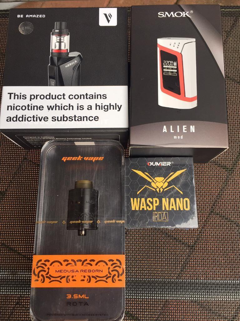 Ecig vape mods and kits
