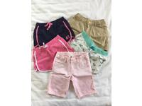 Shorts for sale for 3-4 years old girl
