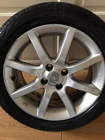 HONDA CIVIC 16 INCH ALLOY WHEELS WITH TYRES