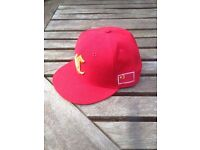 NEW ERA Limited Edition CHINA FLAG 59FIFTY SIZE 7 3/8 RED