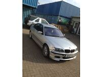 BMW 330d msport 2002 e46 model manual transmission