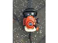 Echo petrol hedge cutter
