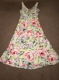 Sleeveless dress multi coloured) House of Fraser-Alexon)