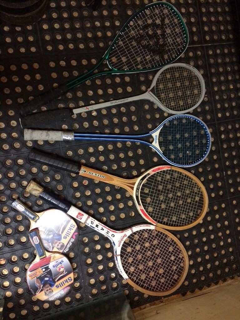 Selection of rackets