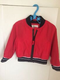 Baby boys river island summer jacket