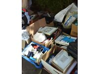 LARGE AMOUNT OF CAR BOOT ITEMS