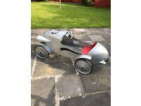 Baghera Pedal Car - Silver