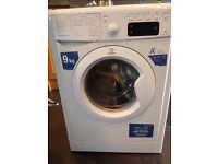 Indesit 9kg washing machine.