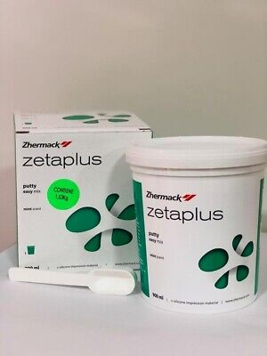 Zhermack Zetaplus C-silicone Impression Material 900ml Putty Only Fast Ship