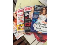 Slimming world magazines x 4
