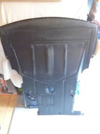 BMW e46 saloon engine undertray with oil drain flap