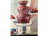 Mini chocolate fountain