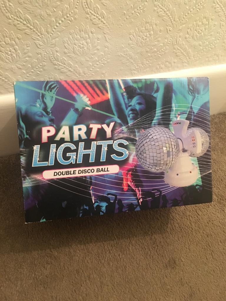 Party lights disco balls