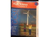 AQA SCIENCE BOOK FOR SALE HARDLY USED