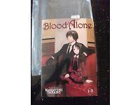 NEW Blood-Alone-Volume-1-3-Story-Art-Masayuki-Takano-Seven-Seas-Manga-Paperback