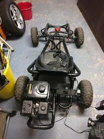 The Drift 2 200cc Black Go Kart - off road buggy /off road go kart