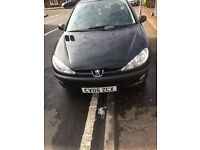 PEUGEOT 206 WITH NEW MOT UNTIL FEBRUARY 2018