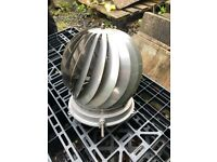Stainless steel rotating chimney cowl