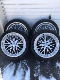 18 inch alloy wheels set of 4